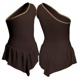 Body danza con gonnellino monospalla SK714LCL1020