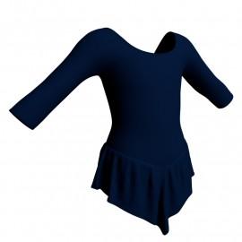Body danza con gonnellino maniche 3/4 SK714LCL406
