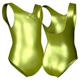 Body danza in lurex canotta con arriccio PXCB3002