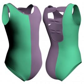 Body danza bicolore canotta PLD230