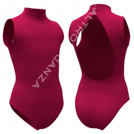 Adult Polo Neck Sleeveless Leotard B510