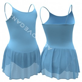 Child Camisole Leotard with Skirt B3006