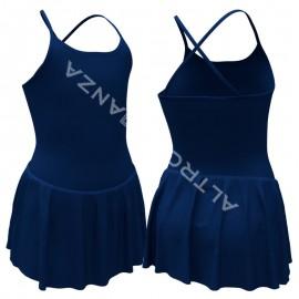 Body con Gonnellino Danza Classica B1006