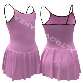 Body Danza Adulti con Gonnellino AT3015