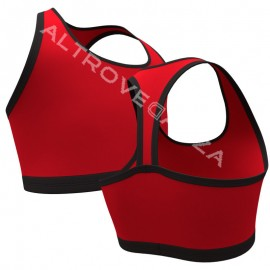 Sleeveless Bra Top Modern Dance