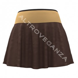Roll Down Slipped Skirt with Waist Band