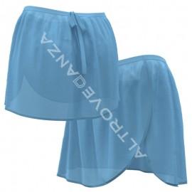 """Black Chiffon Skirt """"Anabel"""""""