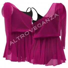 Costume Ballerina per Bambina e Adulta - C2811 Angelita