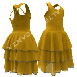 Girl's Dance Costume for Performance - C2808 Sissone