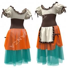 Costume Saggio Danza - C2504 Tutu La Lavandaia