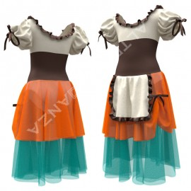 Dance Costume for Girls - C2504 Tutu La Lavandaia