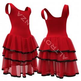 Costume Spettacolo Danza - C2514 La Rusticana