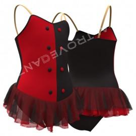 Custome Made Leotard with Skirt - C2517 La Carmen