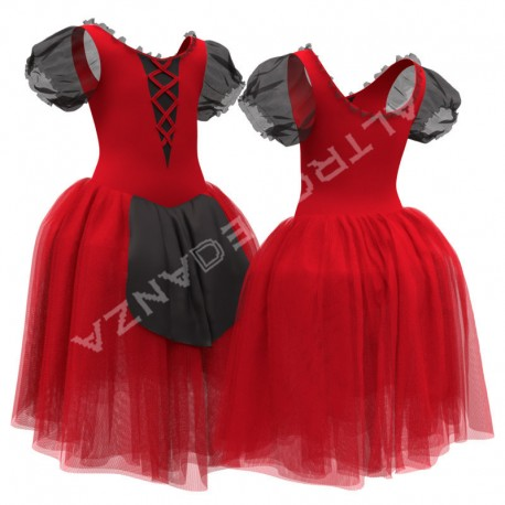 Naples Tarantella Tutu Dress for Girls