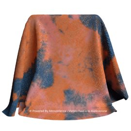 Lycra Nebulosa | Colore LM692 - Orange