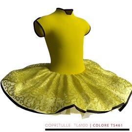 Tutù Danza Bambina e Adulta - TU2601 Colori: Copritulle TS461 | Nastri in Raso Nero