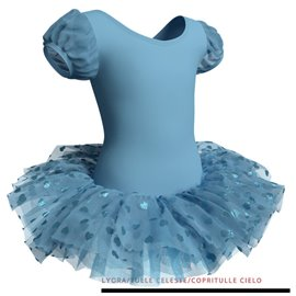 Dance Recital Ballet Tutu Dress for Girls - C2630 Poussin