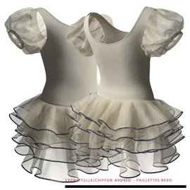 Puff Sleeve Ballet Tutu C2600