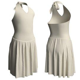 Vestito Danza Moderna | 2100 Color Bianco