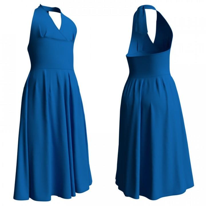 Romantic Sleeveless Ballet Dress for Dance Recital