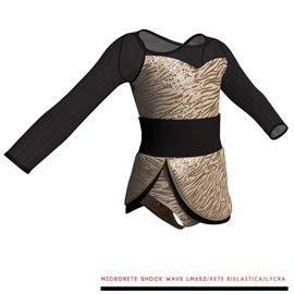 Jazz Costume for Performance - C2115 Chicago Silver