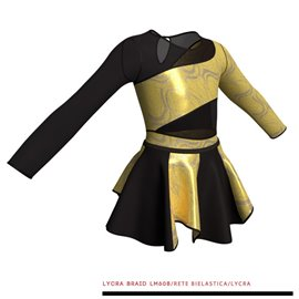 Costume Danza Moderna - M108
