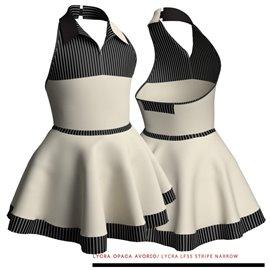 Costume Danza 'Duo Stripe' | M130