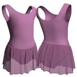 Body Danza Bambina con Gonnellino B3003