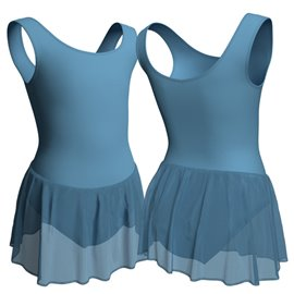 Child Tank Leotard with Chiffon Skirt