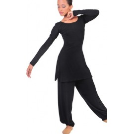 Black Ballet Teacher Uniform