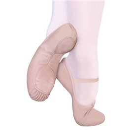 Canvas Split Sole Ballet Slippers M1
