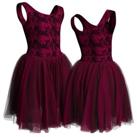Russian Long Tutu Dress for Girls - C2656 Russina