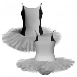 Tutù danza bretelle con inserto TUQ400T