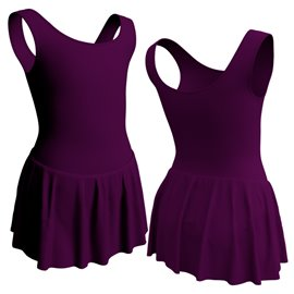 Girls Skirted Tank Leotard