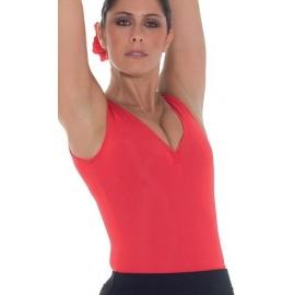 Body Flamenco a Canotta con Arriccio