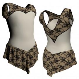 Body Danza Fashion con Gonnellino - GT103BLN