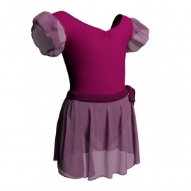 Adult Ballet Leotard with Skirt for Performance - C2810