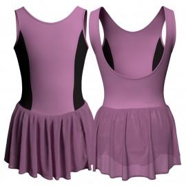 Body danza senza maniche con gonnellino SK1LCC203